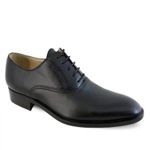 کفش چرم رسمی مردانه نعمتی مدل سانتوس کد 27