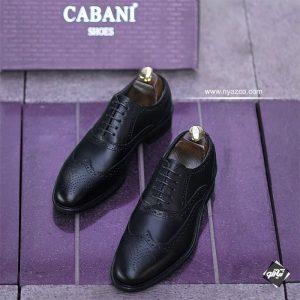 کفش چرم مردانه دستدوز سیلور