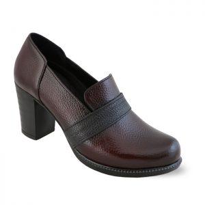 کفش پاشنه دار زنانه چرم راینو کد 162