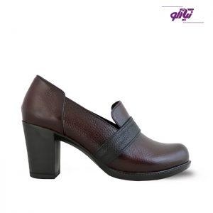 خرید کفش پاشنه دار زنانه چرم راینو کد 162