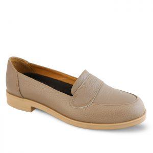 کفش چرم راحتی زنانه راینو چرم کد 129
