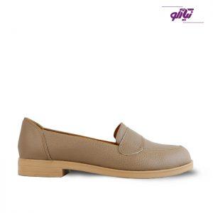 خرید کفش چرم راحتی زنانه راینو چرم کد 129