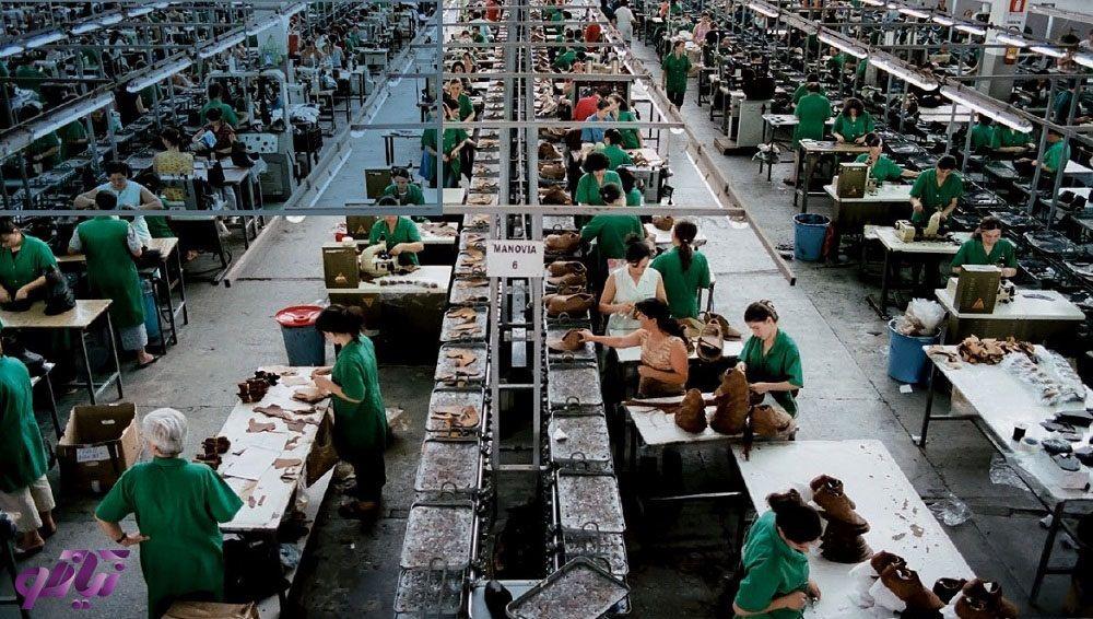 کارخانه های تولید کفش