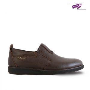 خرید کفش رسمی مردانه تبریز مدل ترافیک کد 212 رنگ قهوهای