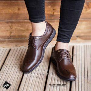 کفش چرم مردانه بوته تبریز