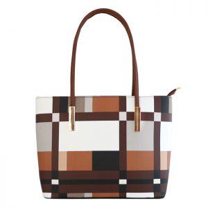 کیف زنانه تیان مدل آریل سایز متوسط رنگ قهوهای