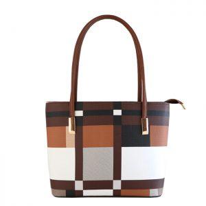 کیف زنانه تیان مدل آریل سایز کوچک رنگ قهوهای
