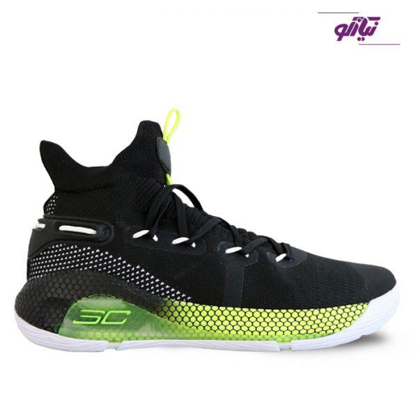 خرید کفش اسپرت مردانه آندر آرمور مدل کری 6 رنگ سبز