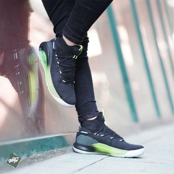 خرید کفش آندر آرمور کری 6 سبز