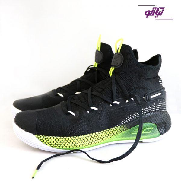 خرید اینترنتی کفش اسپرت مردانه آندر آرمور مدل کری 6 رنگ سبز