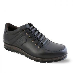کفش چرم روزمره مردانه فرزین مدل نایس