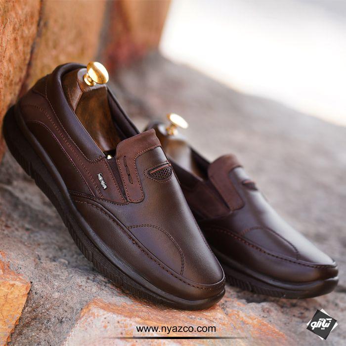 کفش چرم ونتوسا فرزین