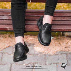 خرید کفش طبی چرم مردانه ونتوسا