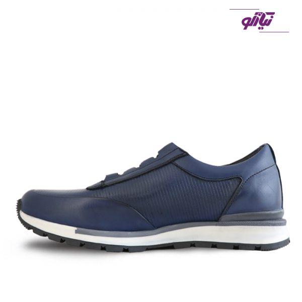 خرید کفش اسپرت مردانه جی سی مدل رابرتو جدید رنگ آبی از نیازکو