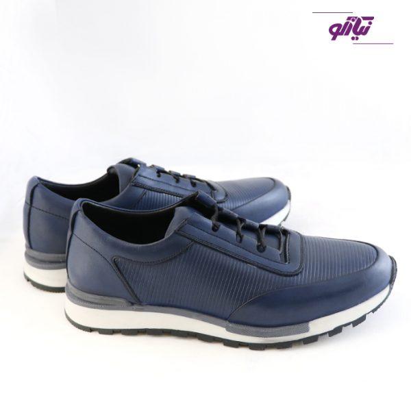 خرید اینترنتی کفش اسپرت مردانه جی سی مدل رابرتو جدید رنگ آبی از نیازکو