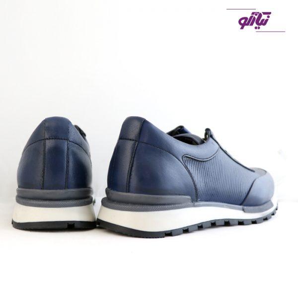 خرید اینترنتی کفش اسپرت مردانه جی سی مدل رابرتو جدید رنگ آبی از سایز نیازکو