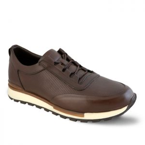کفش اسپرت مردانه جی سی مدل رابرتو جدید رنگ قهوهای