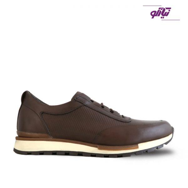 خرید کفش اسپرت مردانه جی سی مدل رابرتو جدید رنگ قهوهای