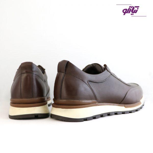 خرید کفش اسپرت مردانه جی سی مدل رابرتو جدید رنگ قهوهای از فروشگاه نیازکو