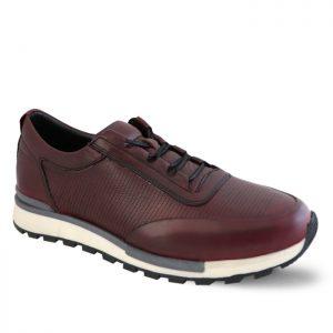 کفش اسپرت مردانه جی سی مدل رابرتو جدید رنگ زرشکی