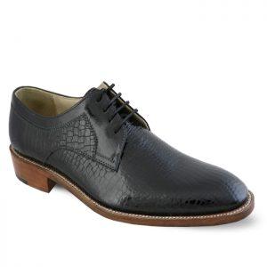 کفش چرم رسمی مردانه نعمتی مدل جی هان رانت بخیه