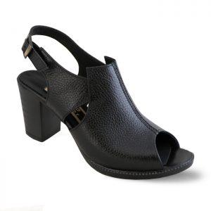 کفش پاشنه دار زنانه راینو چرم کد 105