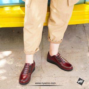 خرید کفش چرم راینو مدل آیسان