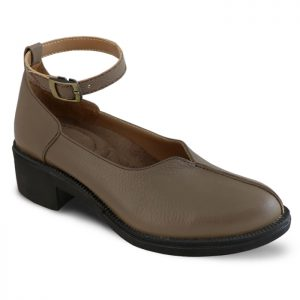 کفش چرم پاشنه دار زنانه راینو چرم کد 61