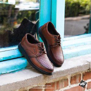 کفش رونیز مردانه چرم تبریز