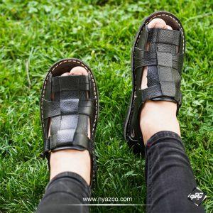 کفش چرم تابستانی کلارک