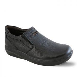 کفش چرم روزمره مردانه لوتوس مدل اسکای رنگ مشکی