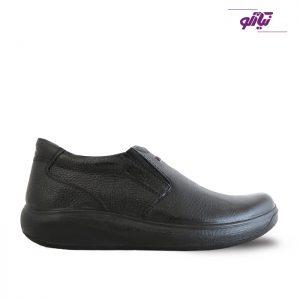 خرید کفش چرم روزمره مردانه لوتوس مدل اسکای رنگ مشکی