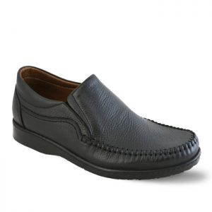 کفش چرم دستدوز راحتی مردانه نعمتی مدل هیرو