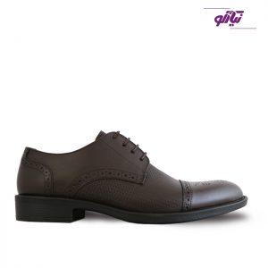 خرید کفش چرم رسمی مردانه نعمتی مدل آرتور کد 2027