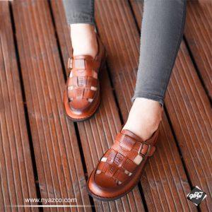 خرید کفش چرم تابستانی شیک