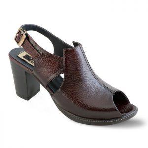 کفش زنانه پاشنه دار راینو چرم