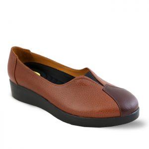 کفش چرم راحتی زنانه راینو چرم کد 107