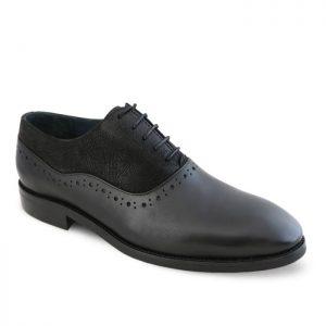 کفش چرم دستدوز مردانه بی جی تی تبریز