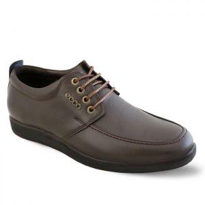 کفش چرم مردانه اکو مدل ساعتی