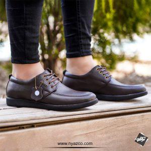 خرید کفش چرم مردانه اکو