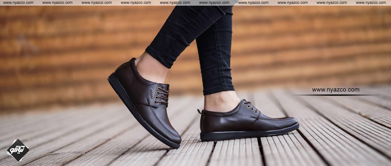 کفش مردانه ساعتی اکو