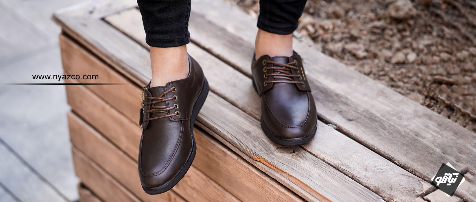 مجموعه کفش های مردانه اکو