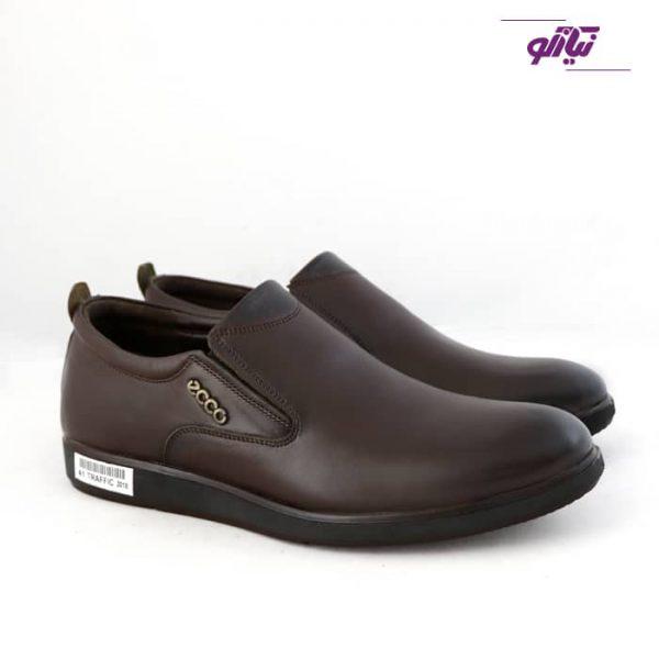 خرید کفش مردانه چرم اکو
