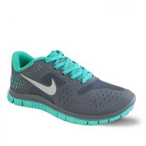 کفش اسپرت زنانه نایک مدل فری ران 4.0 رنگ سبز