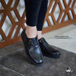 کفش چرم مردانه کلارک مدل پاناما