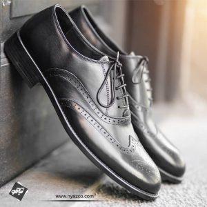 کفش چرم مردانه 118