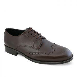 کفش کلاسیک مردانه هشت ترک توران مدل 118 رنگ قهوهای