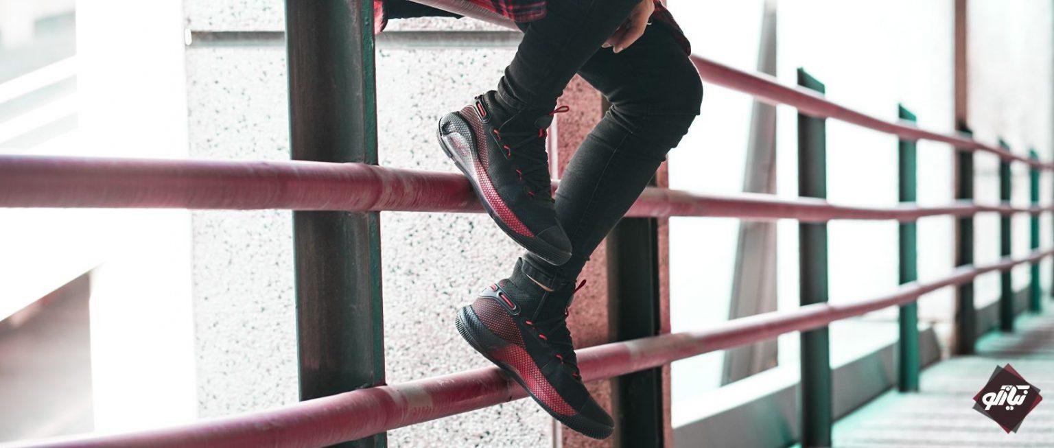 کمپین فروش کفش اسپرت - آندر آرمور