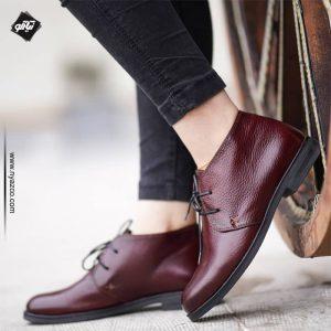 کفش زنانه سلنا زرشکی