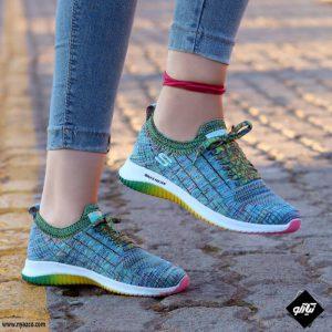 خرید کفش اسپرت زنانه اسکیچرز مدل فلکس